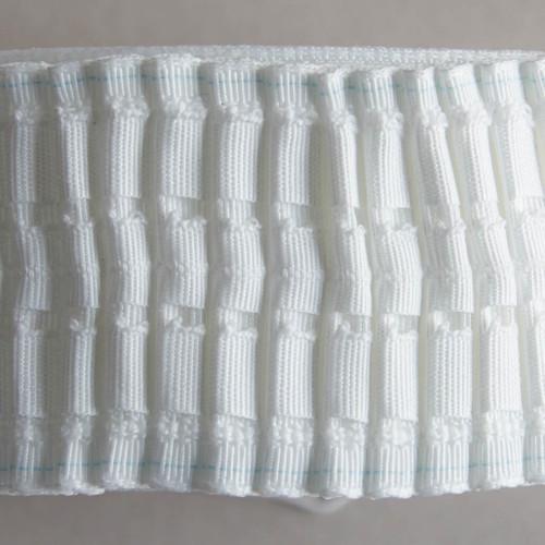 "3"" deep woven pocket pencil pleat curtain heading tape"