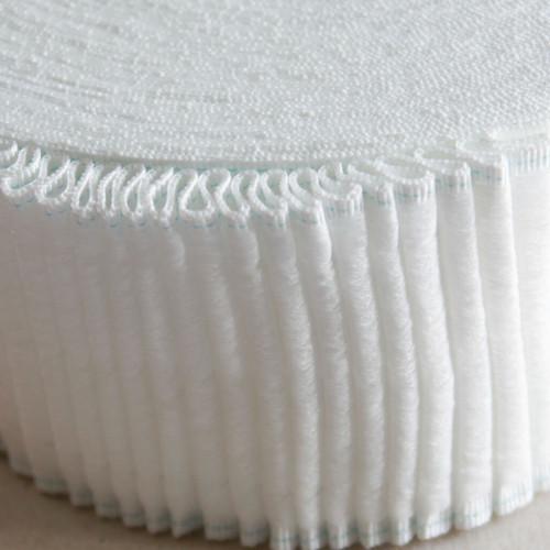 "Velcro compatible 3"" deep curtain heading tape"