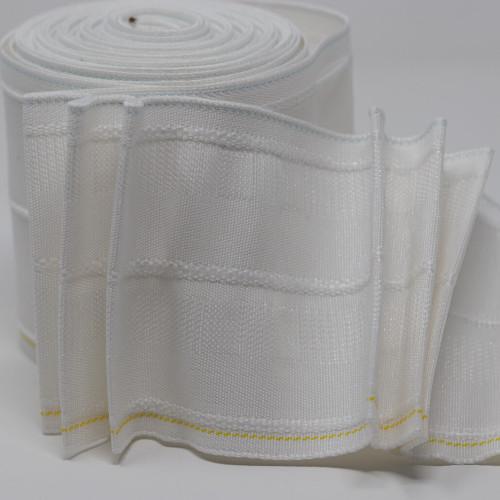 "100mm deep (4"") pinch pleat curtain heading tape"