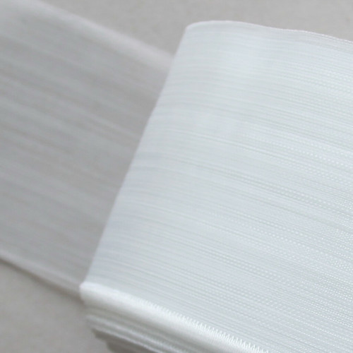 transparent buckram for hand made headings to voiles and sheers