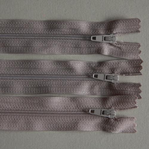 No 3 beige closed zip