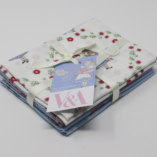 Alice in Wonderland Fat Quarter Bundle