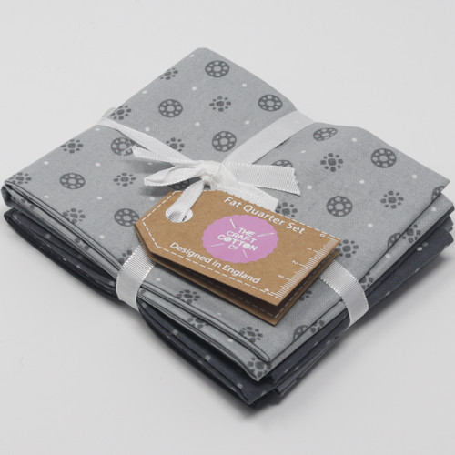 Essential Trend V3 Grey Fat Quarter Bundle