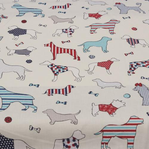 Woof Nautical cotton print