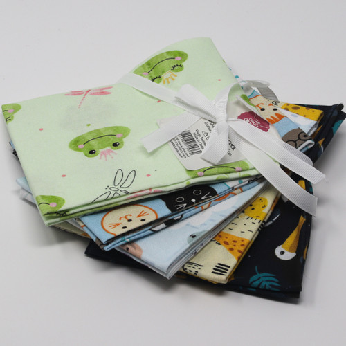 Animals Delight Fat Quarter Bundle