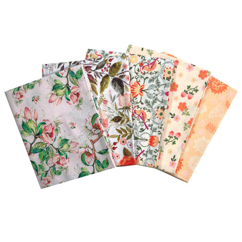 Beautiful Floral Fat Quarter Bundle