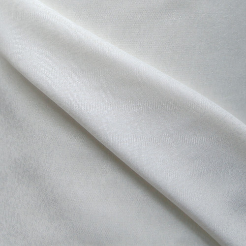 Champagne 300cm wide voile with snowflake texture