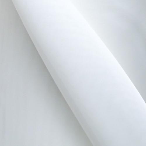 Pure white plain 150cm wide voile