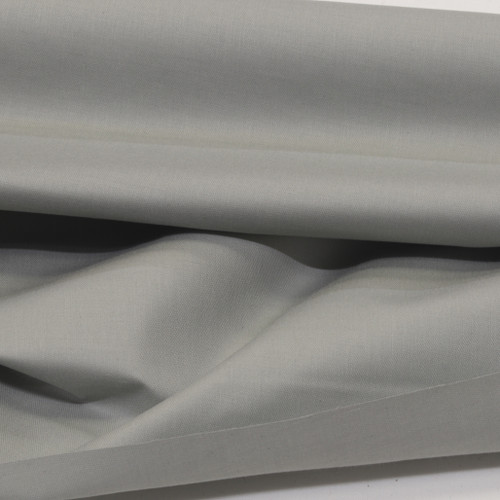 silver 100% cotton sateen curtain lining