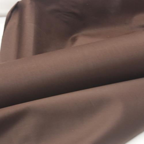 walnut brown 100% cotton sateen curtain lining