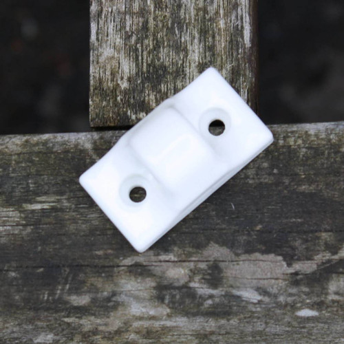Double hole ceramic cord guide