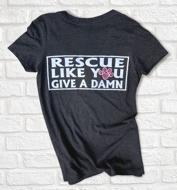 Touch of Grey Rescue Like You Give a Damn T-Shirts