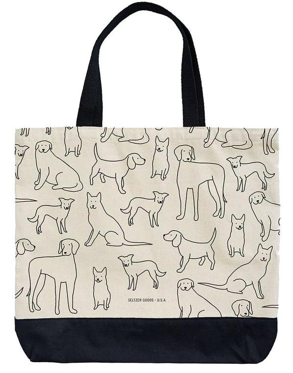 Dog Lovers Tote Bag