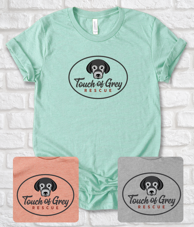 Touch of Grey Rescue Logo T-Shirts