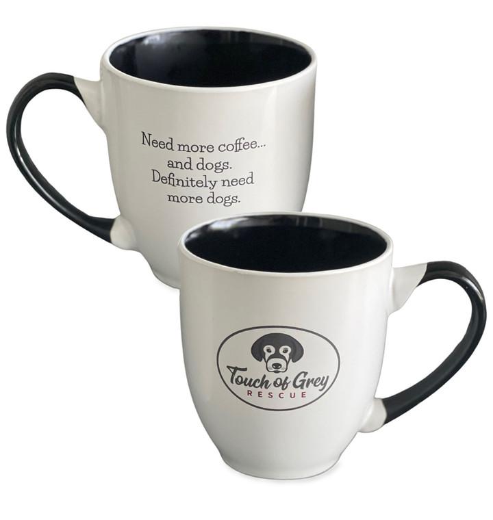 Need More Dogs Logo Mug