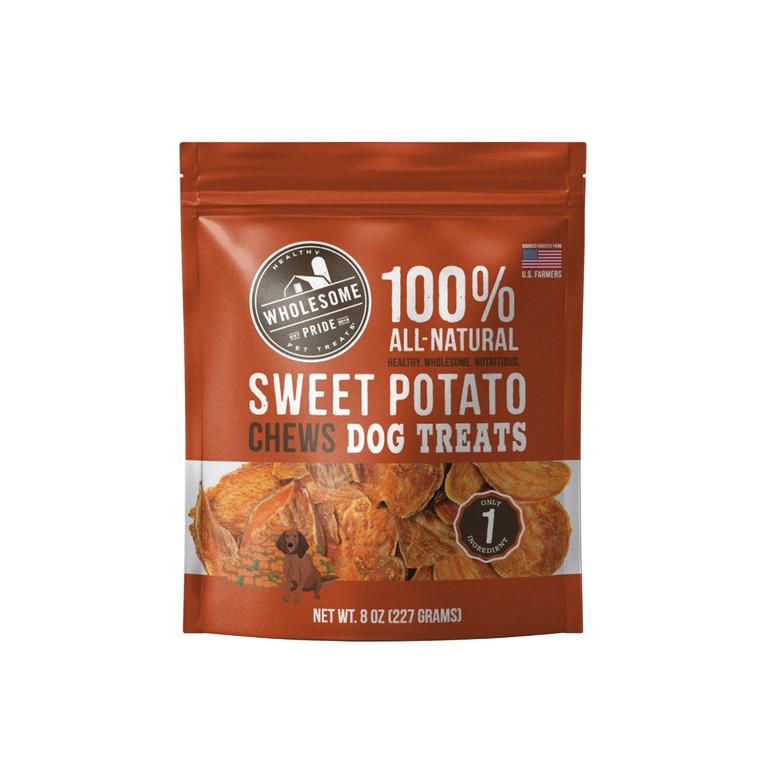 Sweet Potato Chews 1 Ingredient Dog Treats