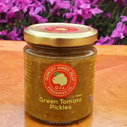 Fantastic, seasonally fresh Green Tomato Pickles!