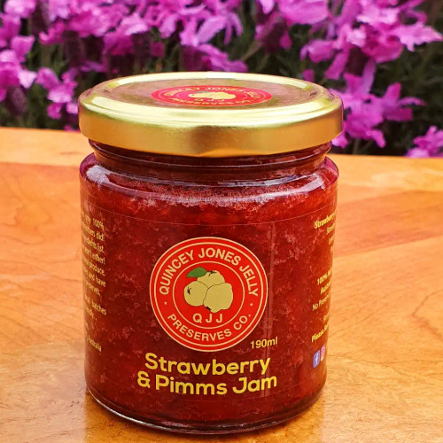 Strawberry & Pimms Jam!