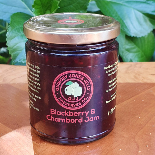 Blackberry & Chambord Jam 190ml