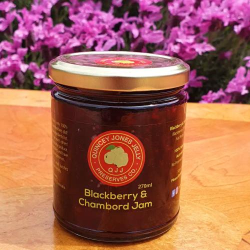 Blackberry & Chambord Jam! Fantastic on scones!