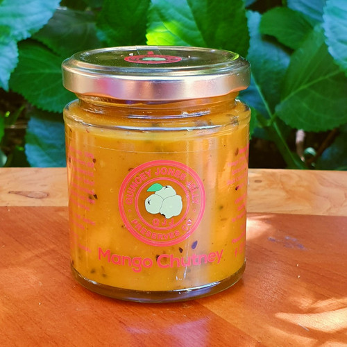 Mango Chutney! Lovely with chicken sandwiches, curries and dipping breads!