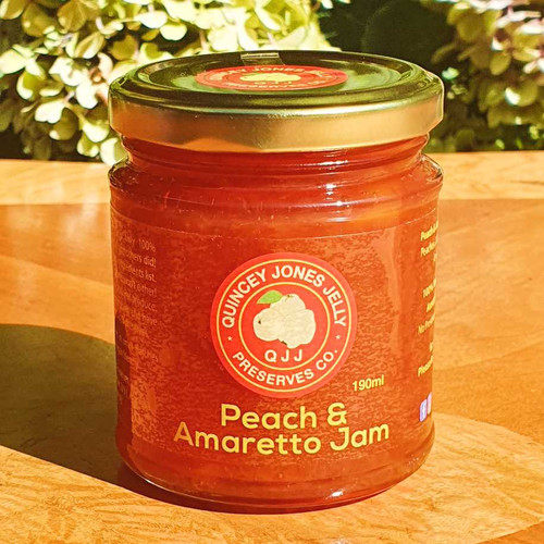 Peach & Amaretto Jam 190ml