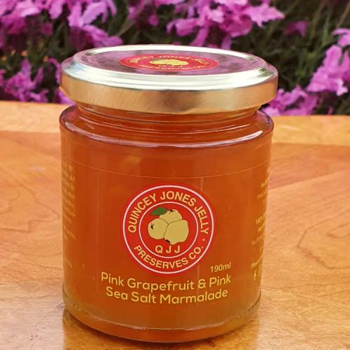 Pink Grapefruit & Murray River Sea Salt Marmalade with Australian Pink Grapefruits!