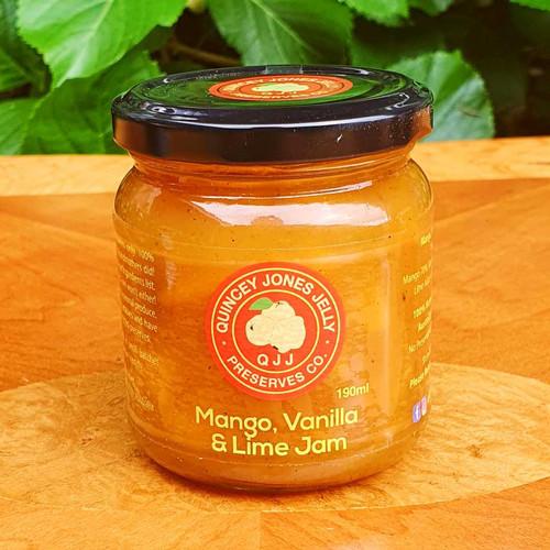 Mango, Vanilla & Lime Jam
