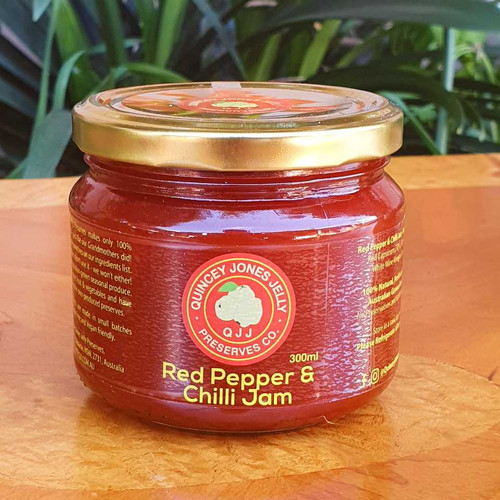 Red Pepper & Chilli Jam 300ml