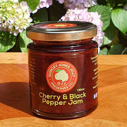 Cherry & Black Pepper Jam