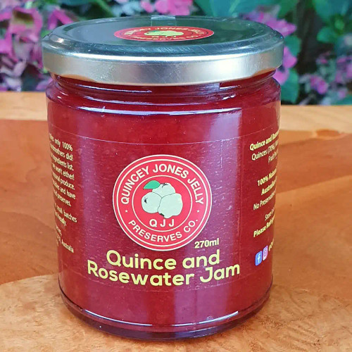 Quince & Rosewater Jam 270ml