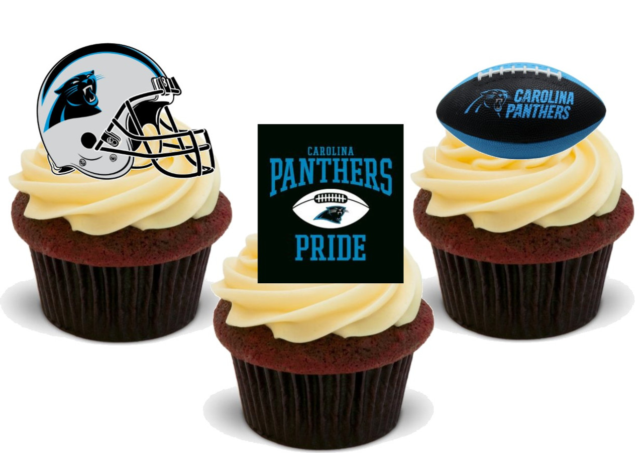 Carolina Panthers Edible Cake Decorations  from cdn11.bigcommerce.com