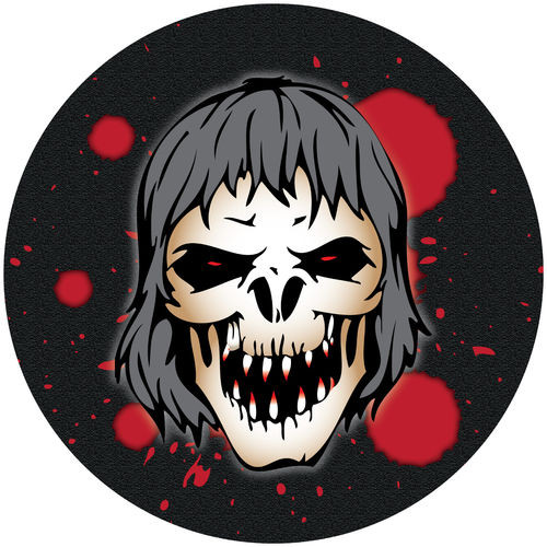 Halloween ZOMBIE Black with BLOOD Cake Toppers