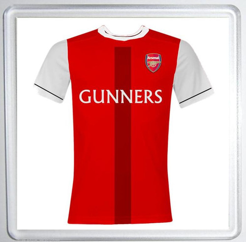 ARSENAL FC Gunners Drinks Coaster Mat - Fun Birthday / Christmas Gift / Stocking Filler / Secret Santa / Novelty - Durable Acrylic 100mm Coaster