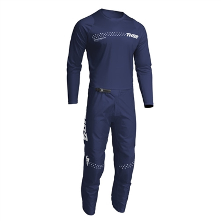 Thor Sector Minimal Jersey and Pant Combo - Navy