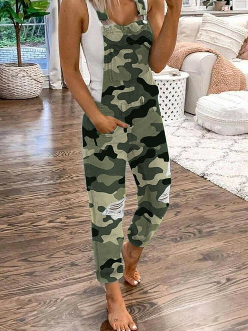 CAMOUFLAGE DUNGAREES