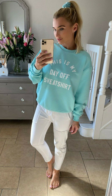 DAY OFF SWEATER MINT