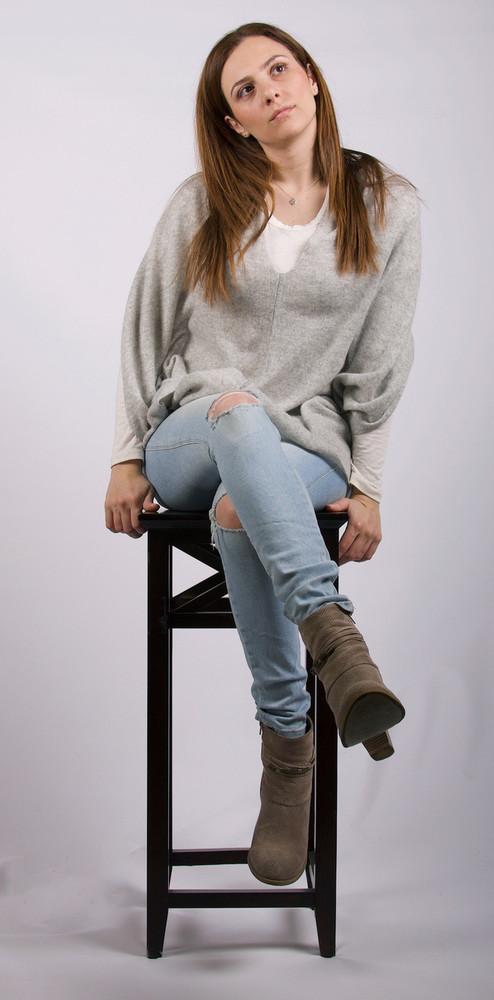 Ester  Cashmere Poncho