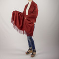 Madison Oversized Cashmere & Wool Blend Scarf