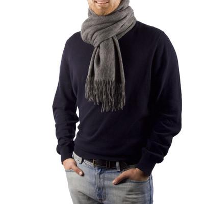 Alex  Oversized Cashmere & Wool Blend Scarf