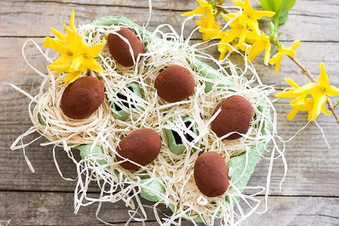 Easiest Easter Recipe ever:  Chocolate Kartoshka Pastries