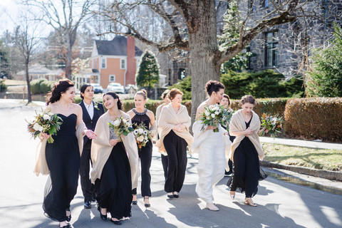 The Softest Cashmere Wrap is the Best Bridesmaid's Gift