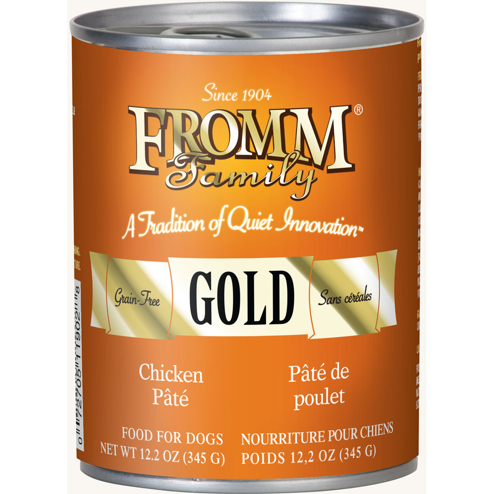 Fromm Gold Chicken Pate Canned Dog Food Case