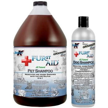 Double K Groomers Edge FURst Aid Shampoo