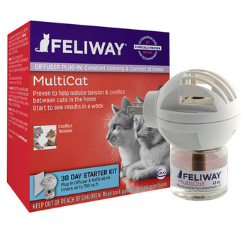 Feliway Multi-Cat Diffuser Starter Kit