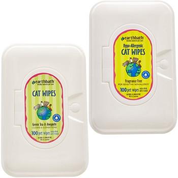 Earthbath Cat Grooming Wipes