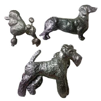 George Harris Dog Breed Pewter Pin