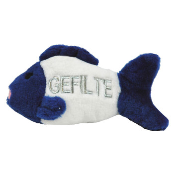 Multipet Gefilte Fish Talking Plush Dog Toy