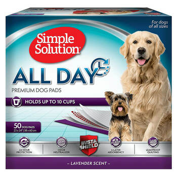 Simple Solution All Day Premium Dog Training Pads 23 x 24