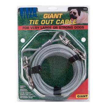 Giant Cable Tie Outs